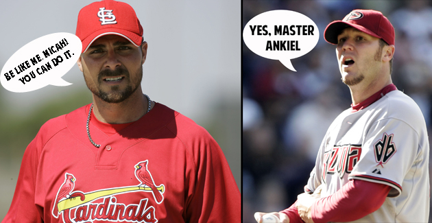 Ex-pitcher Micah Owings channels Rick Ankiel, gets signed as a …