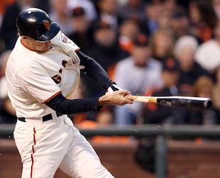 Hunter Pence's broken bat mistakenly sold for $400 in Giants te…