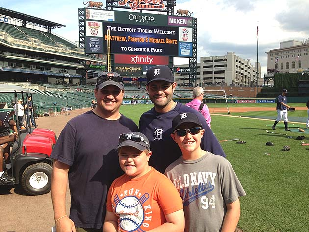 Detroit Tigers act kindly toward grieving family with day at Co…