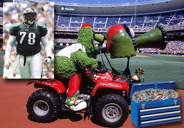 Philadelphia Phillies and NFL's Eagles shared 'blue chest of po…