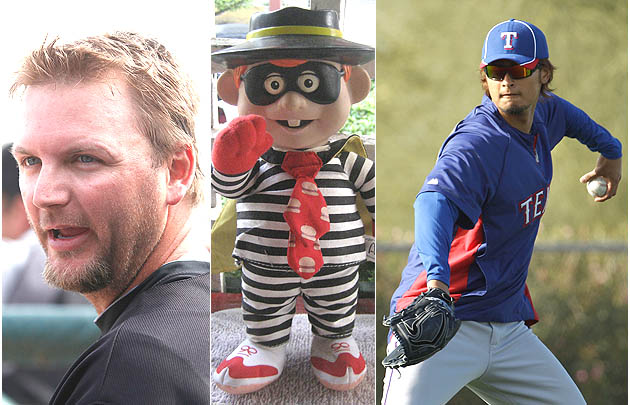 Darvish dines at McDonald's with A.J. Pierzynski in get-to-know…