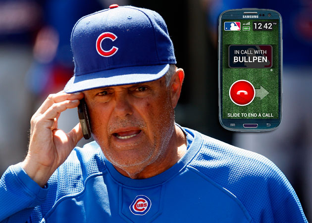 Managers will be able to use cell phones to call bullpens in se…