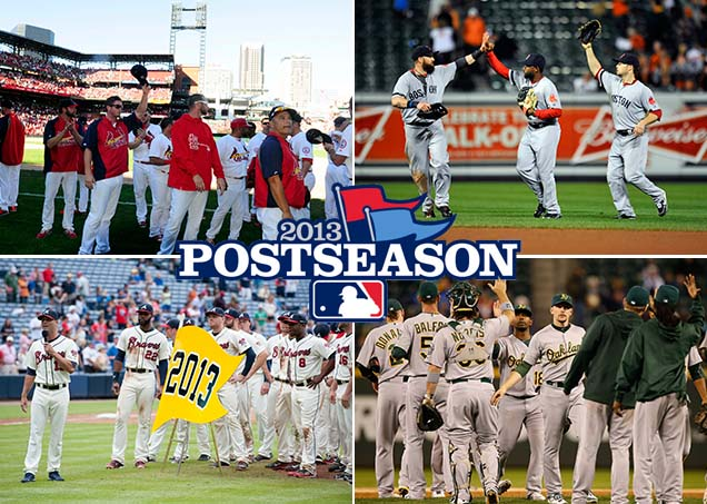 2012 MLB playoffs — Here's the schedule for the opening rounds