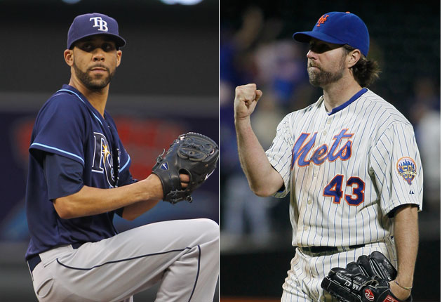 David Price and R.A. Dickey take different paths, but both walk…