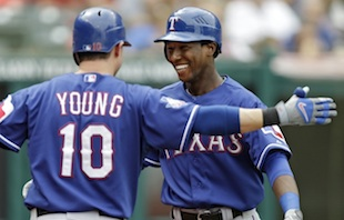 Jurickson Profar homers in first career at-bat (Video)