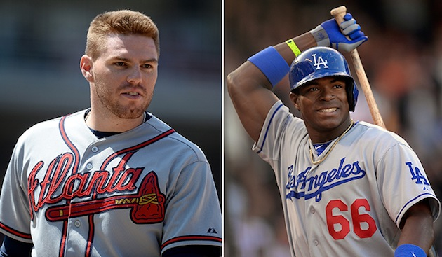 Not so fast, Yasiel Puig — Freddie Freeman leads first 'Final V…