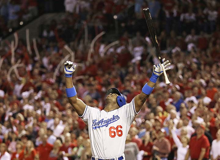 Dodgers Yasiel Puig 0 for 10 with 6 strikeouts in NLCS