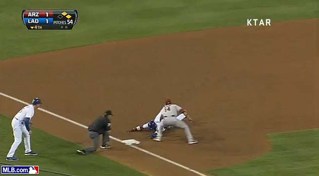 Gerardo Parra cuts down Yasiel Puig, robs another Dodgers playe…