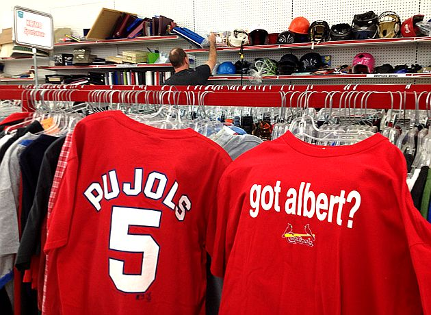 Albert Pujols, Zack Greinke T-shirts available for discount at …