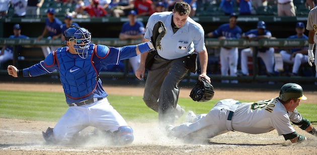 Better than a walk-off: Rangers stop A's rally on dramatic nint…
