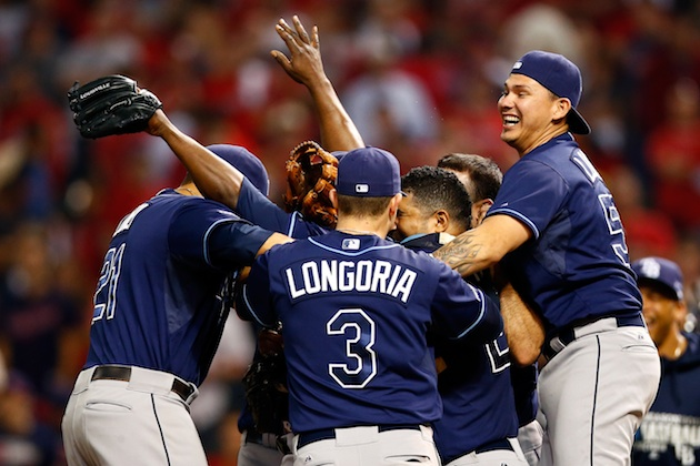 AL wild card: Rays blank Indians 4-0 to advance to ALDS