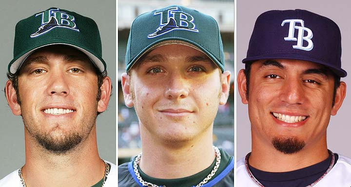 Three former Rays pitchers start Monday, all trying to keep Ray…