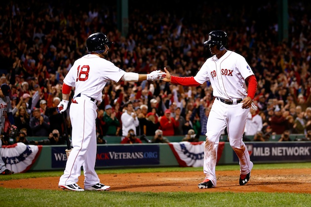 Boston Red Sox are favorites to win the World Series, according…