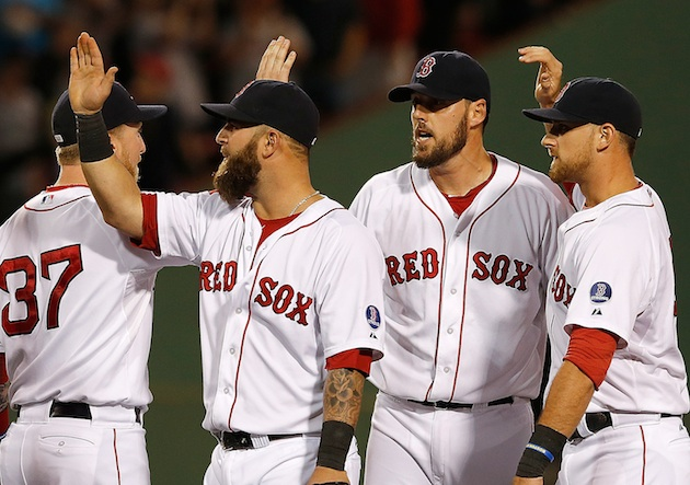 Red Sox clinch playoff berth, AL East title still to come