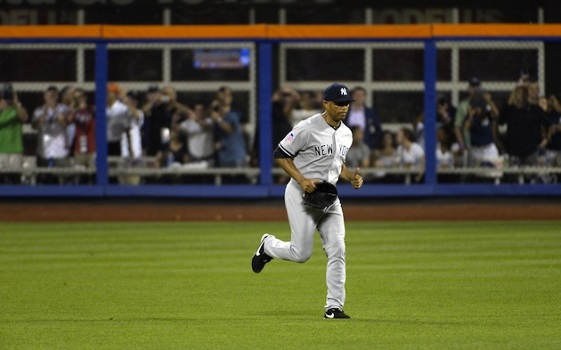 Mariano Rivera pitches perfect eighth after memorable entrance …