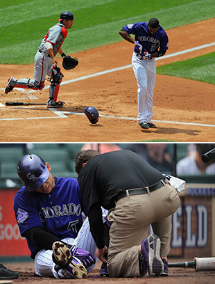 Rough day for the Rockies: Three top players, including Troy Tu…