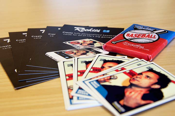 Make your own baseball cards? — There's an app for it