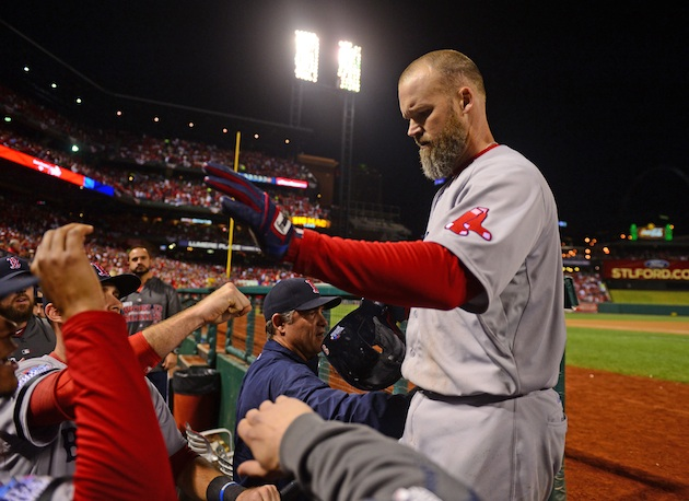 Journeyman David Ross gets his World Series moment, loves every…