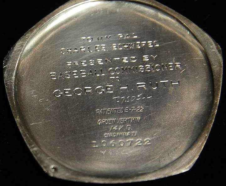 Babe Ruth's 1923 World Series pocket watch might fetch $750,000…