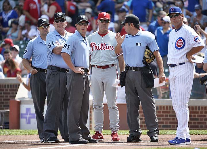 Phillies take interim tag off manager Ryne Sandberg