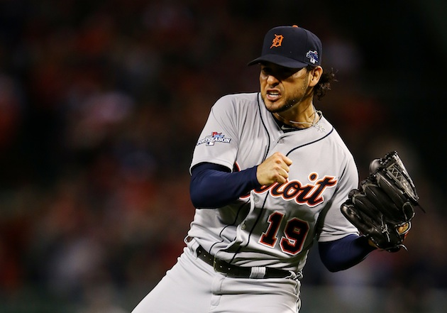 Anibal Sanchez taken out of ALCS Game 1 with a no-hitter after …