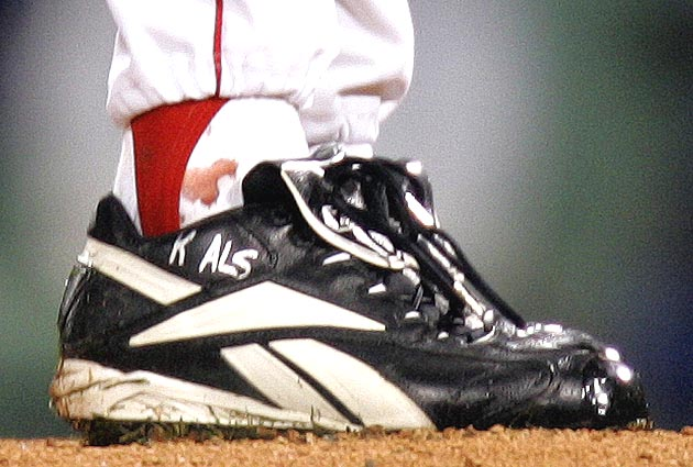 Curt Schilling to auction bloody sock