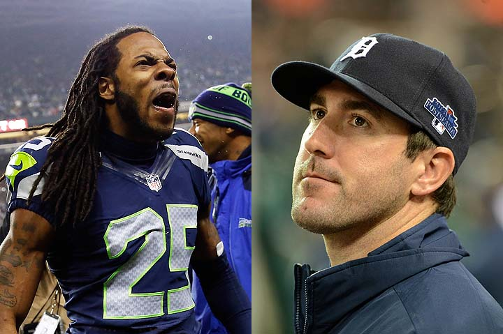 Justin Verlander: Richard Sherman would get a 'high and tight f…