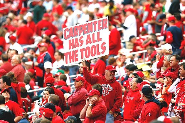 In case of emergency, Cardinals use Carpenter -Matt Carpenter,…