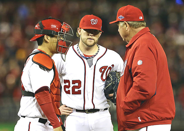 Drew Storen gets love from fans at 'Natsfest'