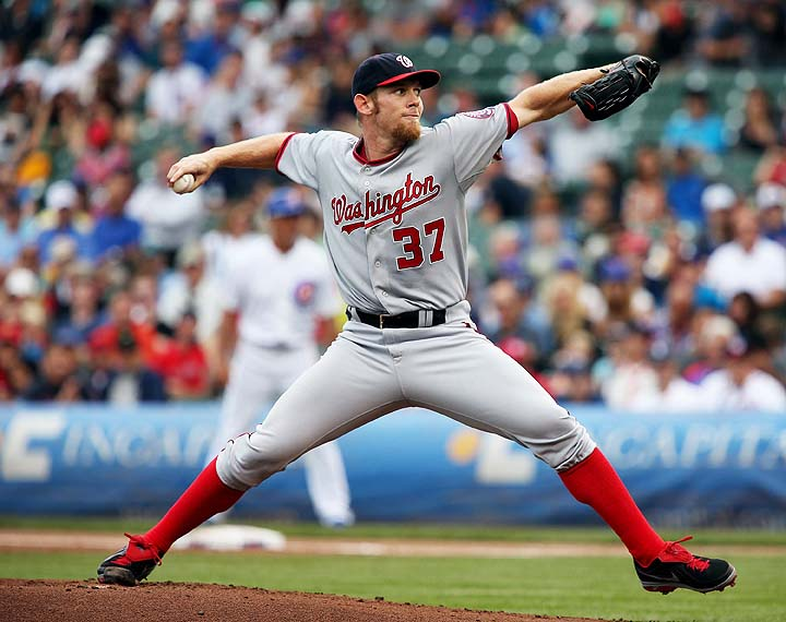 Stephen Strasburg scratched from start with forearm tightness —…