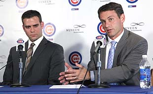 Cubs hire 25-year-old director of baseball operations