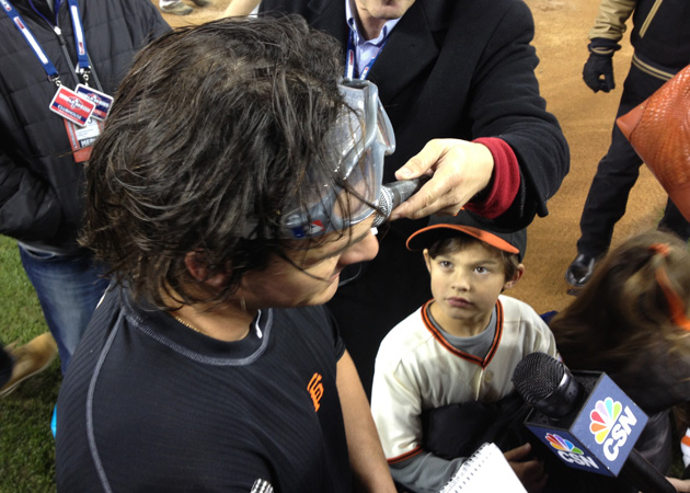 World Series candids: Scenes from the Giants celebration at Com…