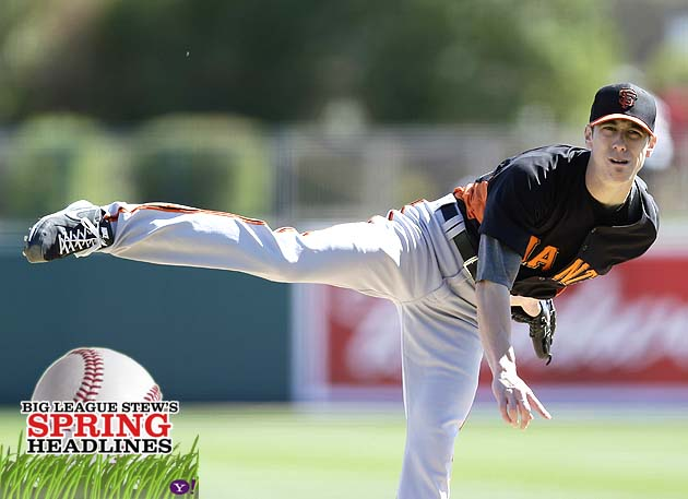 Spring Headlines: Tim Lincecum 'better' in spring debut; 'Knuck…