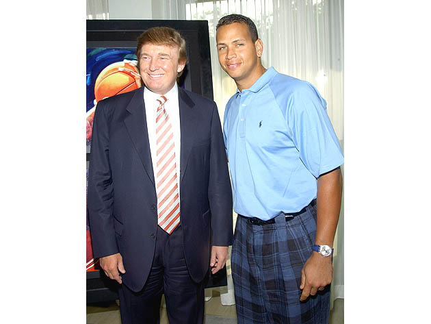Donald Trump demands that Alex Rodriguez be dropped in Yankees …