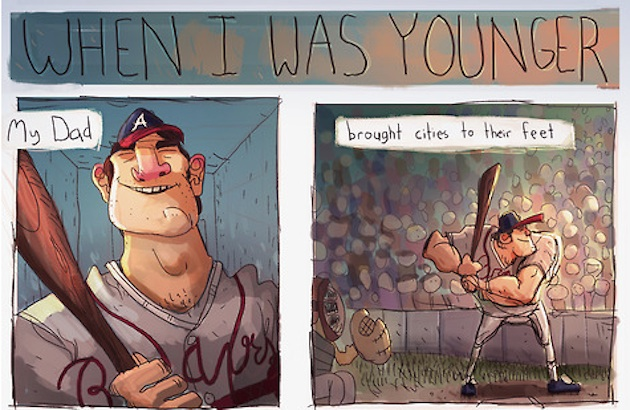 Dale Murphy's son draws great cartoon in support of Hall of Fam…