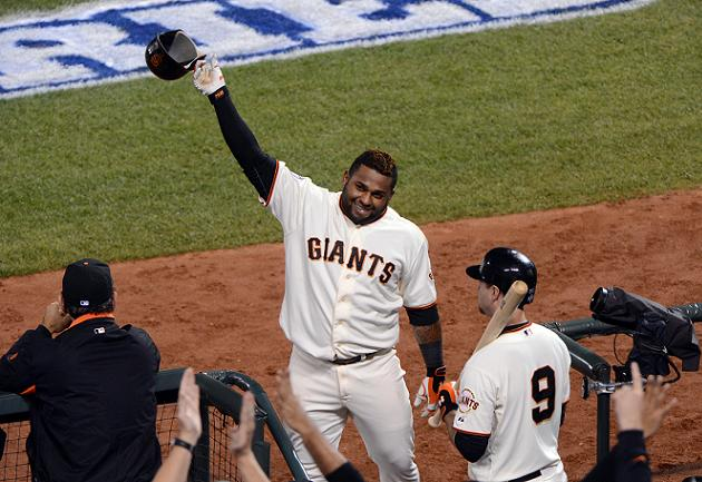 World Series Game 1: Giants thump Tigers 8-3 behind Pablo Sando…