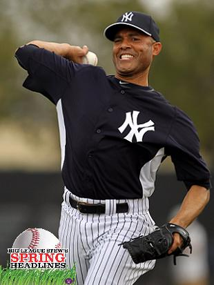 Spring Headlines: Mariano Rivera faces live hitters, Johan Sant…