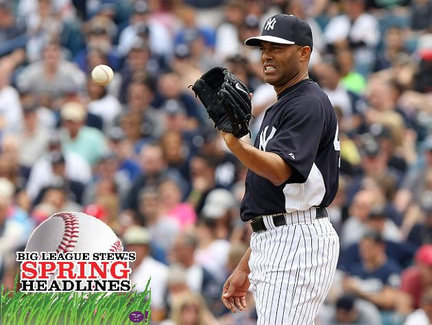 Spring Headlines: Mariano Rivera and Derek Jeter return for Yan…