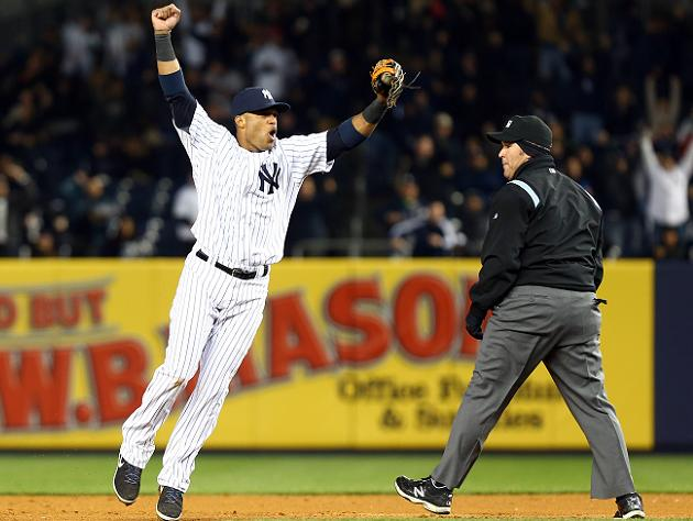 Watch The Yankees Turn A Crazy Triple Play
