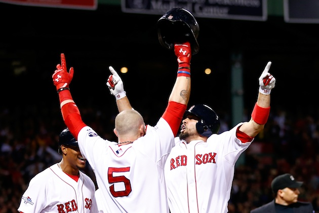 Shane Victorino's seventh-inning grand slam sends Red Sox to th…