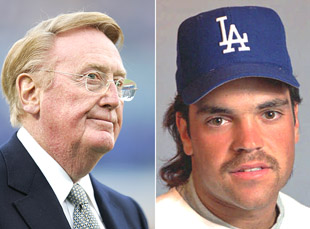 Vin Scully says Mike Piazza's book allegations are 'not true at…