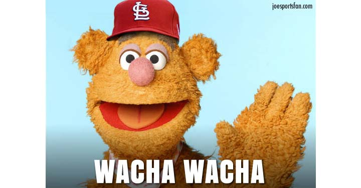 Michael 'Wacha Wacha!' acknowledges link to Muppet Fozzie Bear …