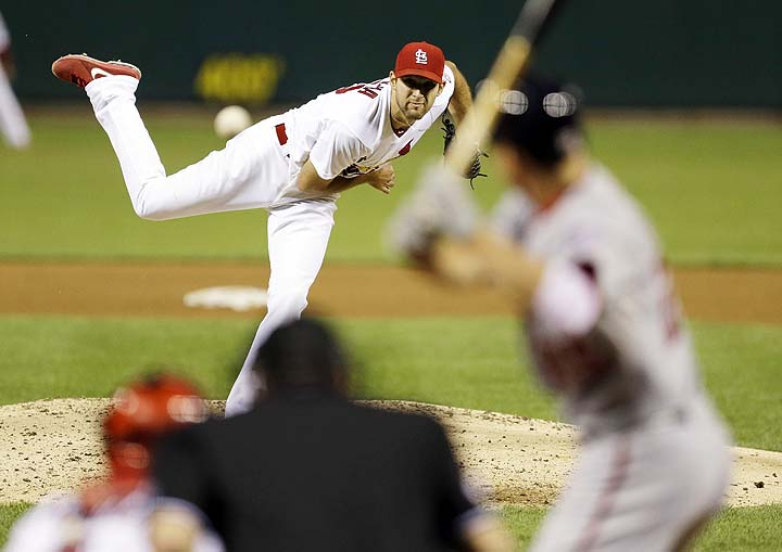 Cardinals rookie Michael Wacha loses no-hitter with two outs in…