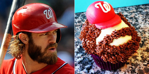 Jayson Werth in cupcake form? Yes, please