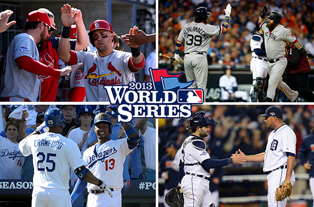TV schedule announced for 2013 World Series