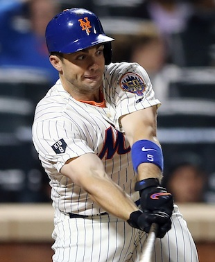 Wright breaks Mets' all-time hits record in victory