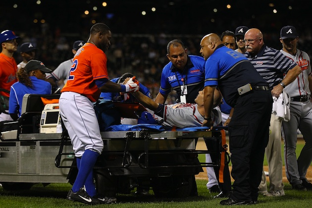 Tim Hudson's wife reacts to gruesome injury by thanking the pla…