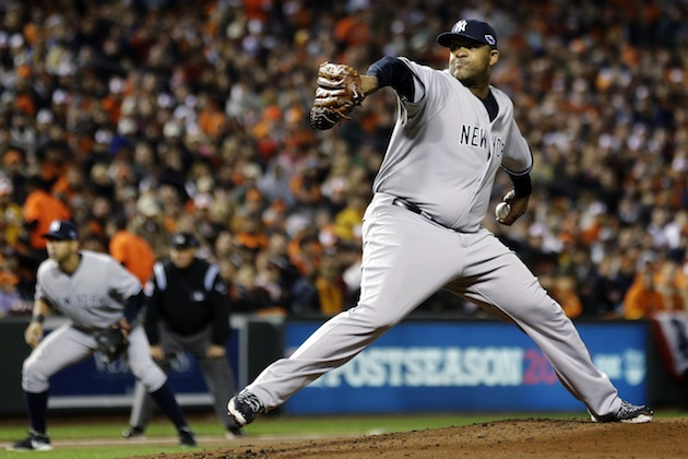 ALDS Game 1: CC Sabathia and ninth-inning outburst lifts Yanks …