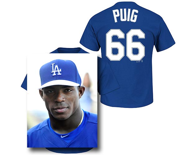 Yasiel Puig merchandise sales set Dodgers record
