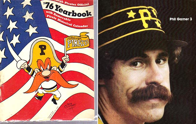 '76 Pittsburgh Pirates yearbook predicted Phil Garner acquisiti…